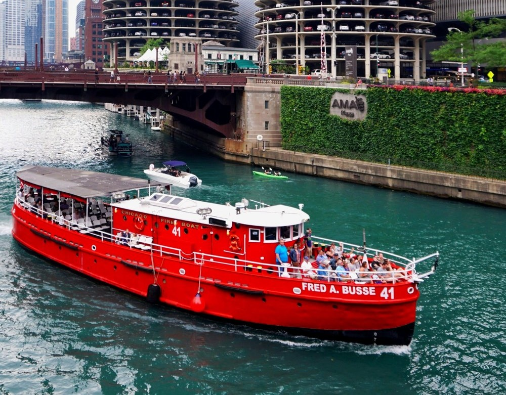 Chicago Fireboat Fred A. Busse
