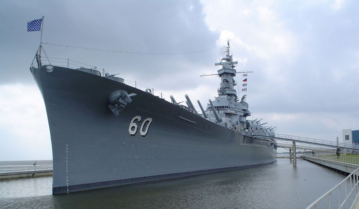 USS Alabama - BB-60