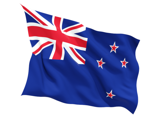 new zealand fluttering flag 640