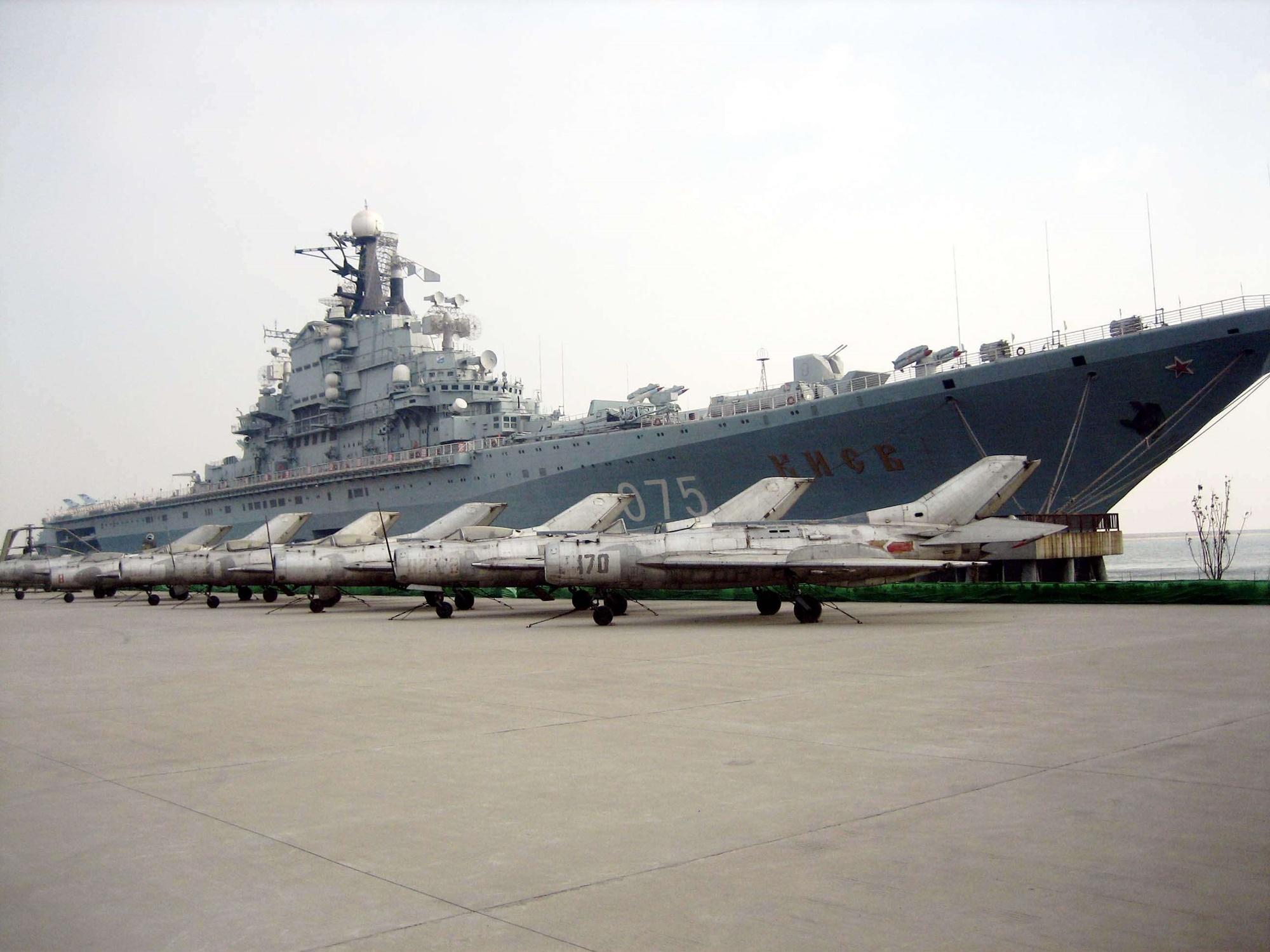 Added Aircraft Carrier Kiev