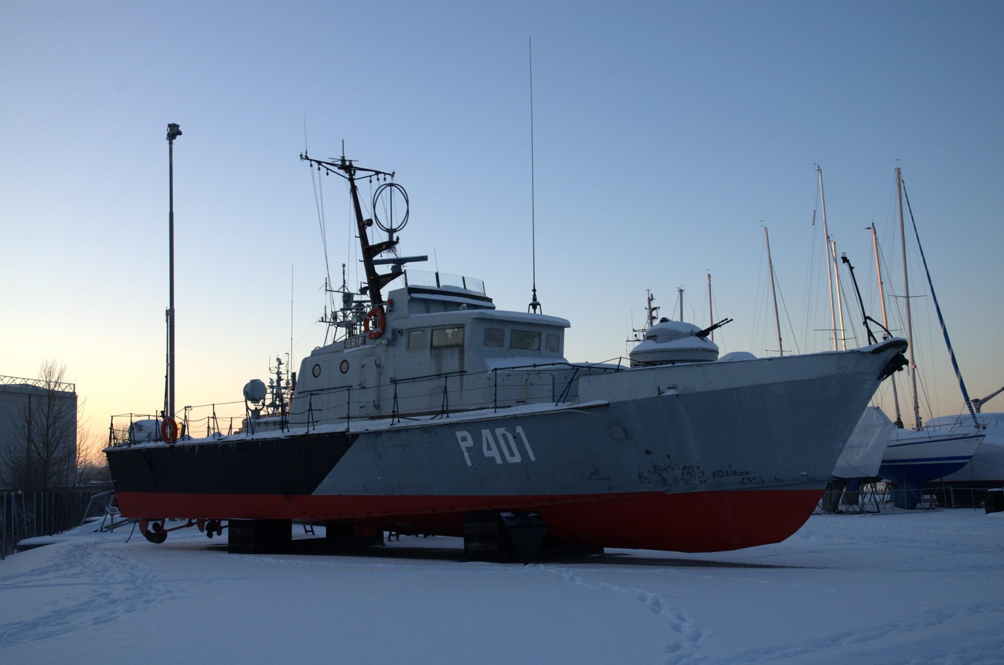 Patrol Boat EML Grif