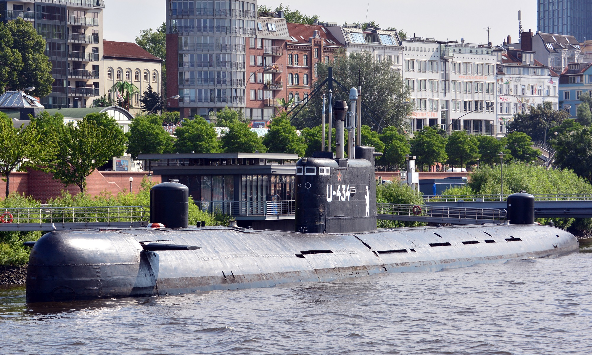 Tango-class submarine U-434/B-515