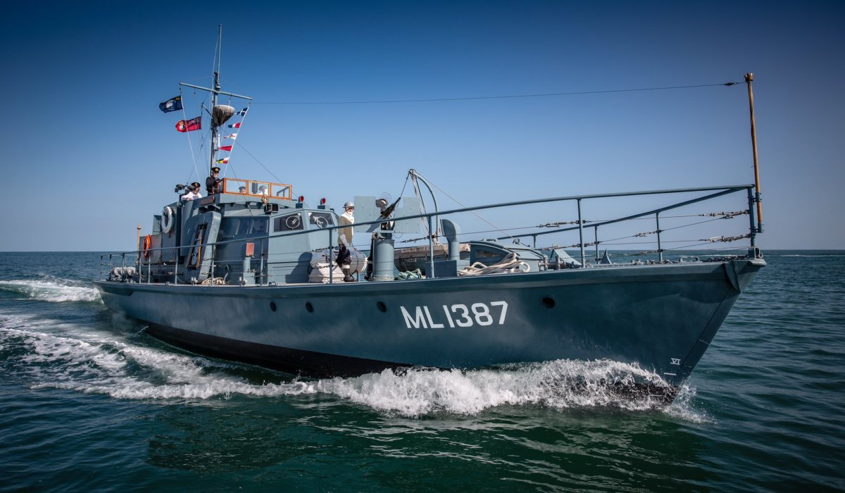 Harbour Defence Motor Launch Medusa