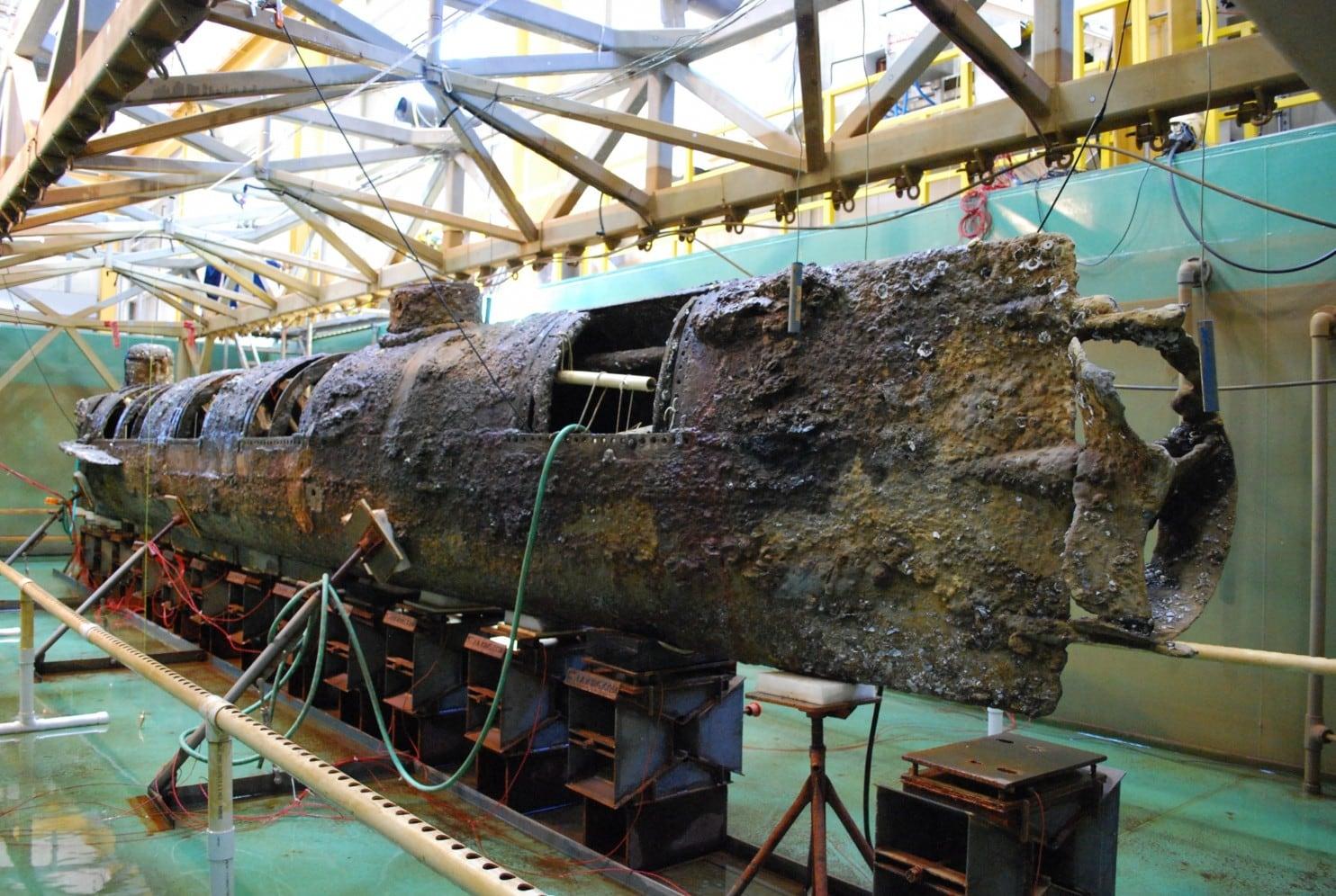 Submarine H.L. Hunley