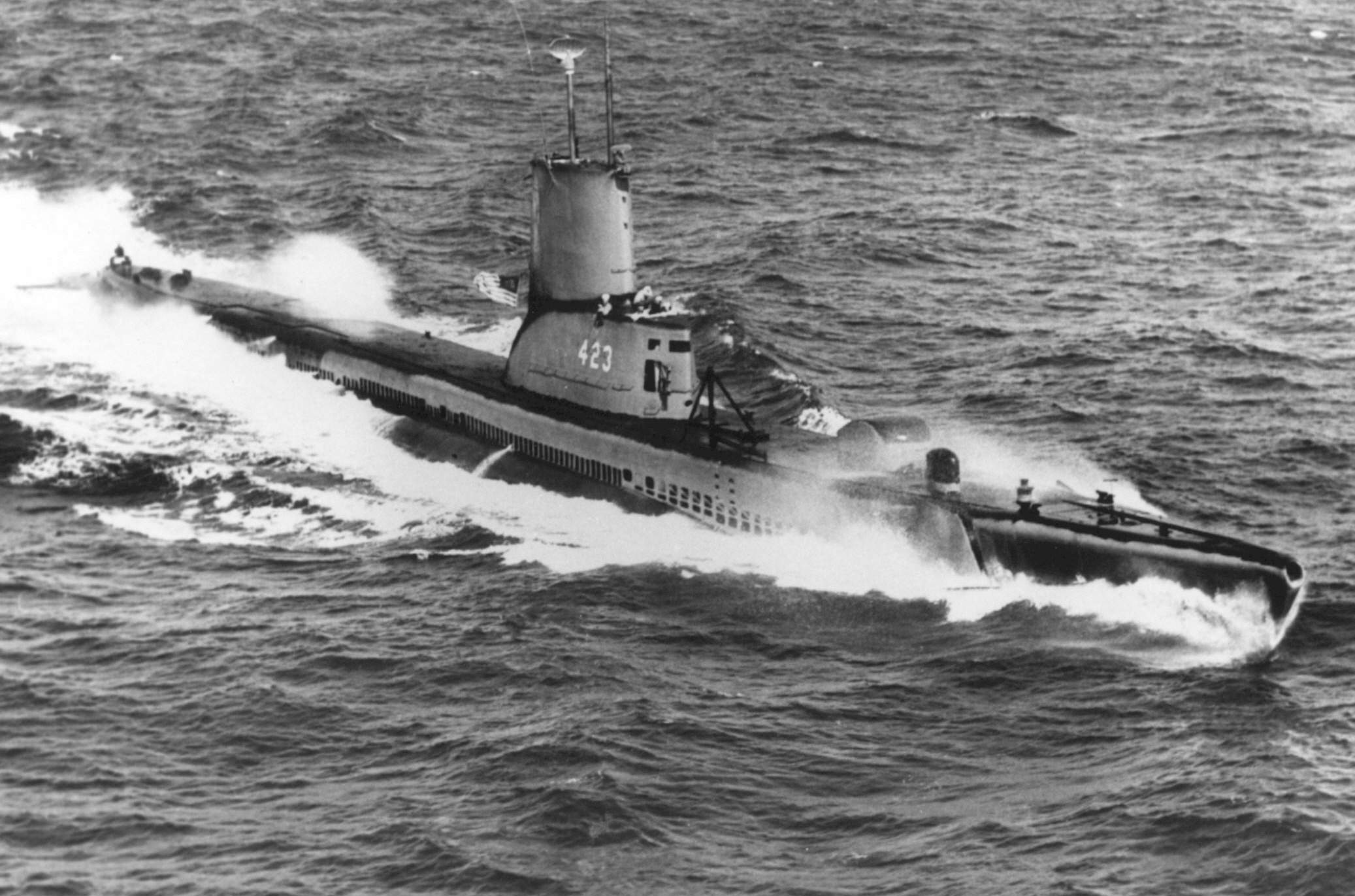 USS Torsk commissioned
