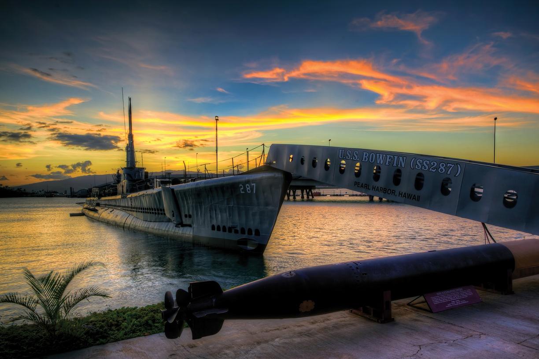 USS Bowfin laid down