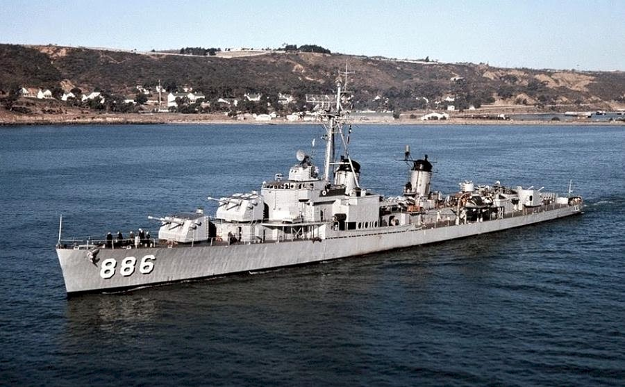 USS Orleck DD-886 commissioned