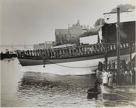 Mayflower II launched